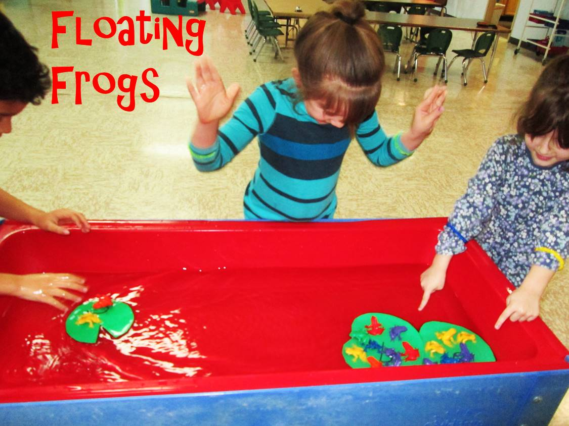 Floating frogs